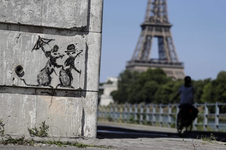 Banksy Paris - Thomas Samson 2