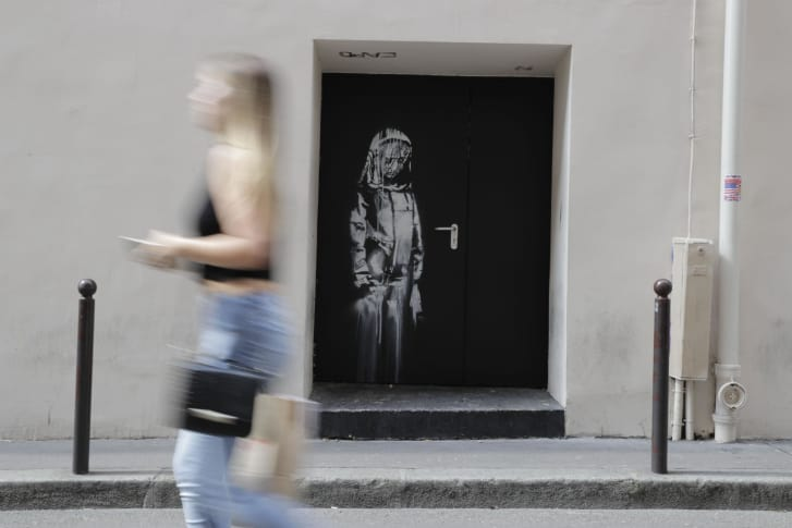 Banksy Paris - Thomas Samson