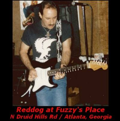 Reddog at Fuzzys